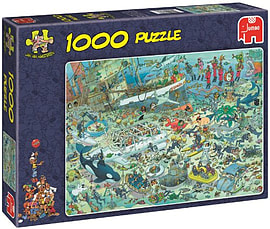 Jan van Haasteren Deep Sea Fun 1000pcs Traditional Games