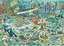 Jan van Haasteren Deep Sea Fun 1000pcs screen shot 1