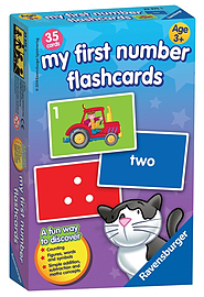 My First Numbers Flash Card Game Traditional Games
