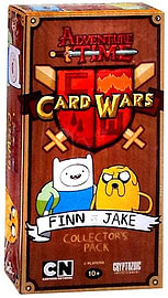 Adventure Time Card Wars Finn vs Jake TCG Collectors Pack Traditional Games
