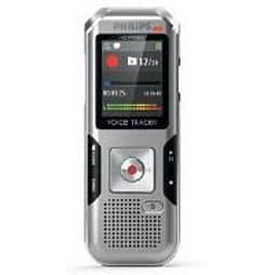 Philips Voicetracer Dvt4000 (4gb) Digital Voice Recorder (silver/chrome) With Autoadjust+ PC