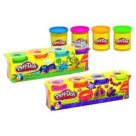 PlayDoh 4 Tubs 520g Pre School Toys