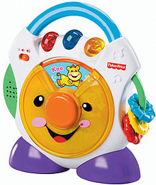 Fisher Price Laugh and Learn Nursery Rhymes CD Player Pre School Toys