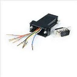 StarTech.com Adaptor DB9M to RJ45F PC