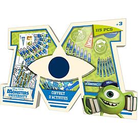 Disney Pixar Monsters University Activities Set (cmun029) Pre School Toys