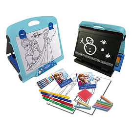 Disney Frozen Double Sided Art Easel With 30+ Piece Accessory Set (cfro083) Pre School Toys