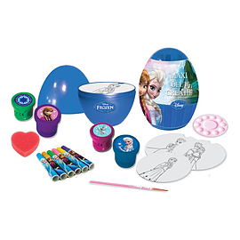 Disney Frozen My Maxi Egg With 24 Piece Creative Activities Set (cfro119) Pre School Toys