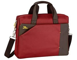Rivacase 8130 15.6 Inch Laptop Bag, Dark Red Tablet