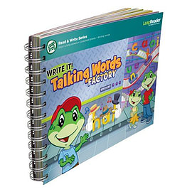 LeapFrog LeapReader Writing Workbook Talking Words Factory Pre School Toys