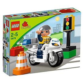 Lego Duplo Legoville : Police Bike (5679) Blocks and Bricks