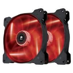 Corsair Air Series SP140 High Static Pressure Fan (140mm) with Red LED (Twin Pack) PC