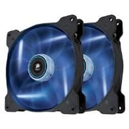 Corsair Air Series SP140 High Static Pressure Fan (140mm) with Blue LED (Twin Pack) PC