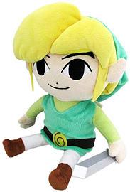 Legend Of Zelda Wind Waker Link 8 Inch Plush Soft Toys