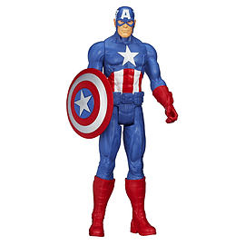 Marvel Avengers Titan Hero Series Captain America Action Figure Figurines and Sets