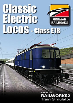 Classic Electric Locos Class E18 - Add-on for Railworks 2 PC