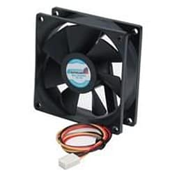 Startech 80x25mm Ball Bearing Quiet Computer Case Fan With Tx3 Connector PC