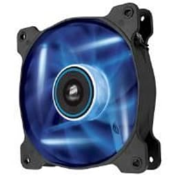 Corsair Air Series AF120 LED Blue Quiet Edition High Airflow 120mm Fan Single Fan PC