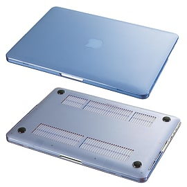 Hard Shell Frosted Plastic Case For Apple MacBook Pro 13 Inch - Deep Blue Tablet