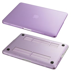 Hard Shell Frosted Plastic Case For Apple MacBook Pro 15 Inch - Purple Tablet