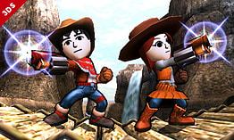 Mii Fighter - amiibo - Super Smash Bros Collection screen shot 4