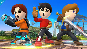Mii Swordsman - amiibo - Super Smash Bros Collection screen shot 2