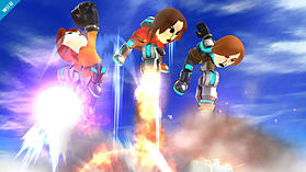 Mii Gunner - amiibo - Super Smash Bros Collection screen shot 2
