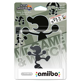 Mr Game & Watch - amiibo - Super Smash Bros Collection Toys and Gadgets Cover Art