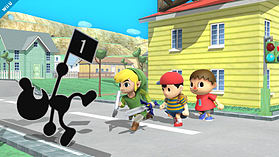 Mr Game & Watch - amiibo - Super Smash Bros Collection screen shot 1