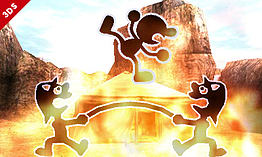 Mr Game & Watch - amiibo - Super Smash Bros Collection screen shot 3