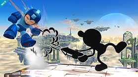 Mr Game & Watch - amiibo - Super Smash Bros Collection screen shot 5