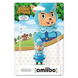 Cyrus - amiibo - Animal Crossing Collection Toys and Gadgets
