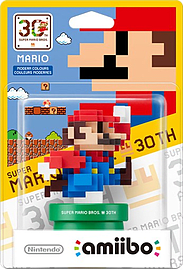 8-bit Super Mario (Modern Colours) - amiibo - Mario 30th Anniversary Collection Toys and Gadgets