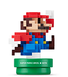 8-bit Super Mario (Modern Colours) - amiibo - Mario 30th Anniversary Collection screen shot 1