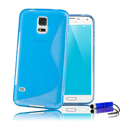 Ultra Slim S-Line Silicone Gel Case For Samsung Galaxy S6 - Deep Blue Mobile phones
