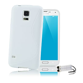 Ultra Slim S-Line Silicone Gel Case For Samsung Galaxy S6 - White Mobile phones