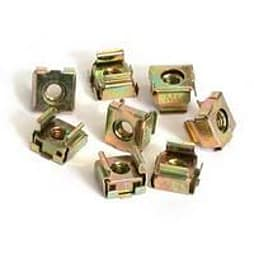 Startech M5 Cage Nuts For Server Rack Cabinets Rack Nuts (pack Of 50) PC
