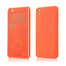 Dot Matrix Display Case For HTC Desire 620 - Orange Mobile phones