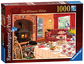 The Afternoon Visitor 1000 Piece Traditional Games