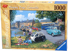 Happy Days - Cotswolds, 1000pc Traditional Games