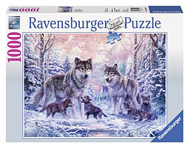 Arctic Wolves, 1000pc Traditional Games