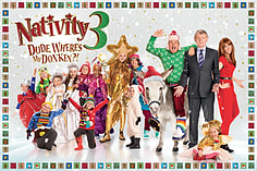 Nativity 3 Dude Wheres My Donkey Family Jigsaw Puzzle (615 Pieces) screen shot 1