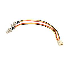 StarTech.com TX3 Fan Power Splitter Cable (15.2cm) PC