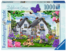 Country Cottage Collection - Delphinium Cottage 1000 Piece Traditional Games