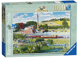 Day in the Country - The Steam Mill 1000 Piece Traditional Games