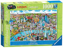 London - Landscape, 1000pc Traditional Games