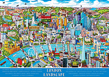 London - Landscape, 1000pc screen shot 1