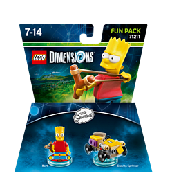 Bart Fun Pack - LEGO Dimensions - The Simpsons Lego Dimensions