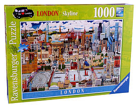 London - Skyline, 1000pc Traditional Games