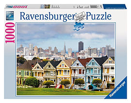 Painted Ladies, San Francisco, 1000pc Traditional Games