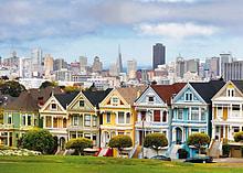 Painted Ladies, San Francisco, 1000pc screen shot 1